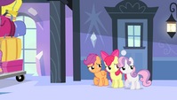 Cutie Mark Crusaders worried S4E24