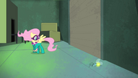 Fluttershy notices hurt firefly S4E06