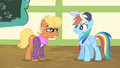 Ms. Harshwhinny unsure of Rainbow Dash S04E05.png