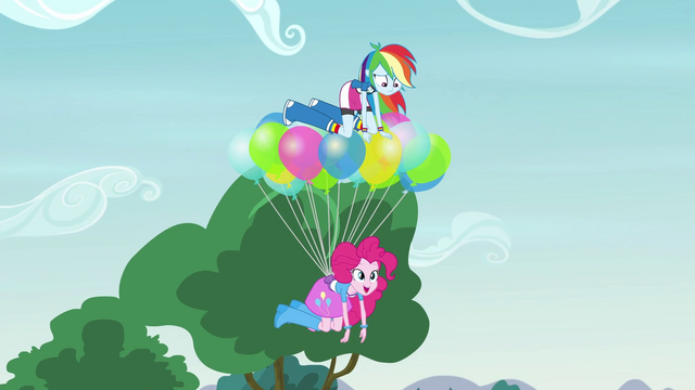 File:Rainbow and Pinkie levitating upward EG3.png