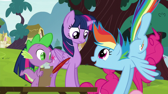 File:Rainbow pushing Pinkie down S5E22.png