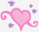 Sweetie Belle heart cutie mark crop