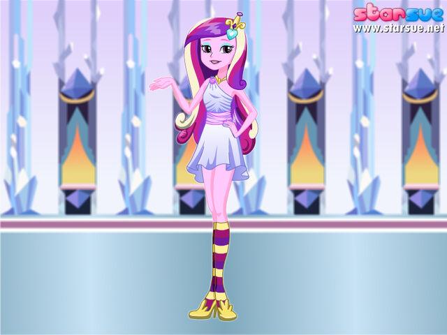 File:FANMADE Princess Cadence Pony Human.jpg