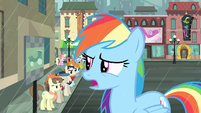 "Rainbow Dash ""Does everypony in this town want a cab"" S4E08"