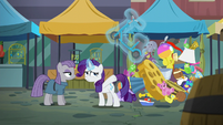 Rarity levitating scooter S6E3