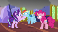 Starlight Glimmer aghast at Rainbow's actions S6E21