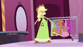 Applejack shows off her dress EG.png