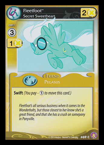 File:Fleetfoot, Secret Sweetheart card MLP CCG.jpg