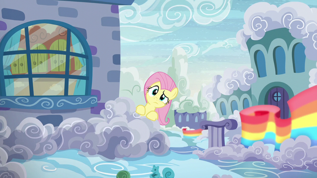 File:Fluttershy looks behind her parents' house S6E11.png