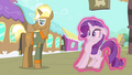 Rarity being moved towards Trenderhoof S4E13.png