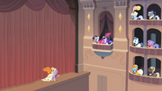 Rarity in an opera house box S2E9