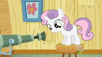 Sweetie Belle telescope S02E12