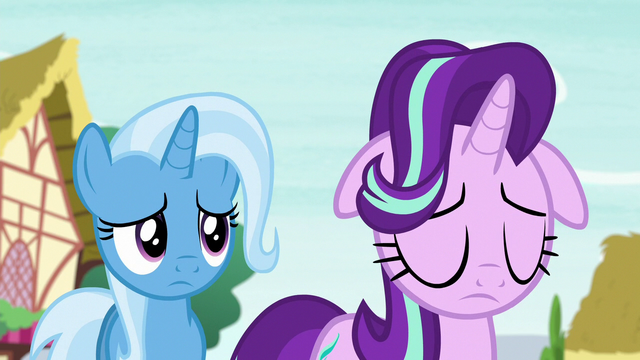 File:Trixie feeling sorry for Starlight Glimmer S6E25.png