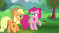 Applejack approaching Pinkie Pie S5E24.png