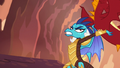Ember about to toss Garble S6E5.png