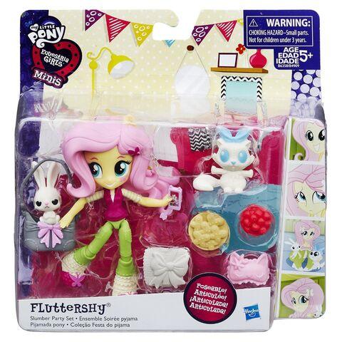 File:Equestria Girls Minis Fluttershy Sleepover set packaging.jpg