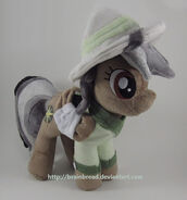 FANMADE Daring Do plushie by Brainbread
