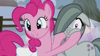 "Pinkie ""she's so excited to meet everypony!"" S5E20"