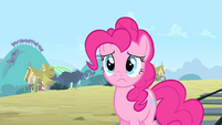 Pinkie Pie frowning S4E11