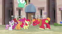 "Apple Bloom ""what can he do that you can't?"" S7E8"