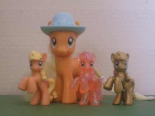 File:Applejack toy collection.jpg