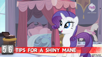 """Hot Minute with Rarity """"brush, my darling!"""""""