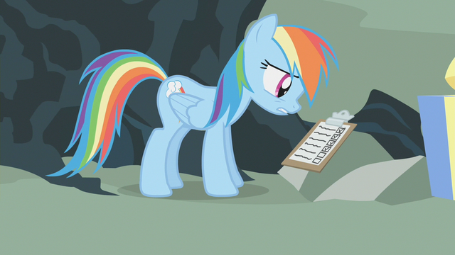 "File:Rainbow Dash ""Tried that one, tried that one, tried that one..."" S1E12.png"