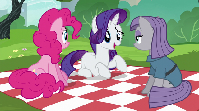 "File:Rarity ""I'm not even a Pie sister"" S6E3.png"