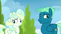 Sky and Vapor unsure of what to say S6E24