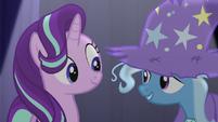 Trixie calls Starlight her best friend S6E6