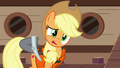 Applejack confused by Pinkie's behavior S6E22.png