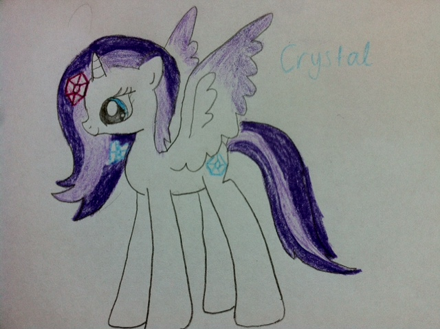 File:FANMADE Crystal by X0 rainbow dash x.jpg