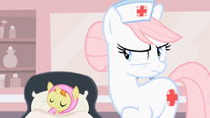 Nurse Redheart being serious S2E13.png