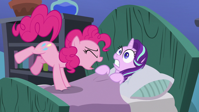 File:Pinkie Pie loudly wakes up Starlight S7E4.png