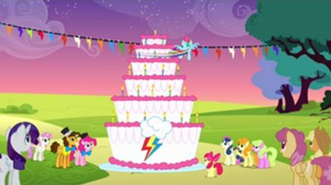 Polish My Little Pony Make A Wish HD