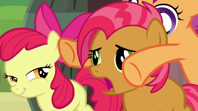 File:Scootaloo about to close Babs' eyes S3E04.png