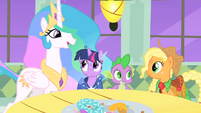 Celestia Twilight and Applejack2 S01E26