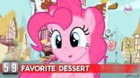 Hot Minute with Pinkie Pie favorite desert