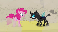 Pinkie Pie and changling S02E26