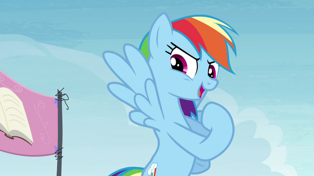 "File:Rainbow Dash ""I'm gonna be the first!"" S4E22.png"