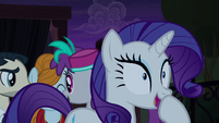 "Rarity ""it all makes perfect sense!"" S5E16"