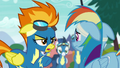 """Spitfire """"drummed flyers out of the 'Bolts for less"""" S6E7.png"""