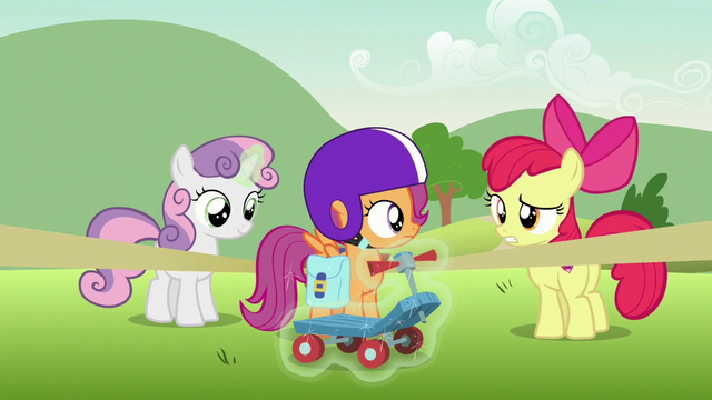 "File:Apple Bloom ""to finish your report"" S7E7.png"