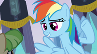 Rainbow Dash has got it covered S03E12