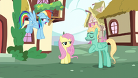 Rainbow still repulsed by Zephyr's flirting S6E11