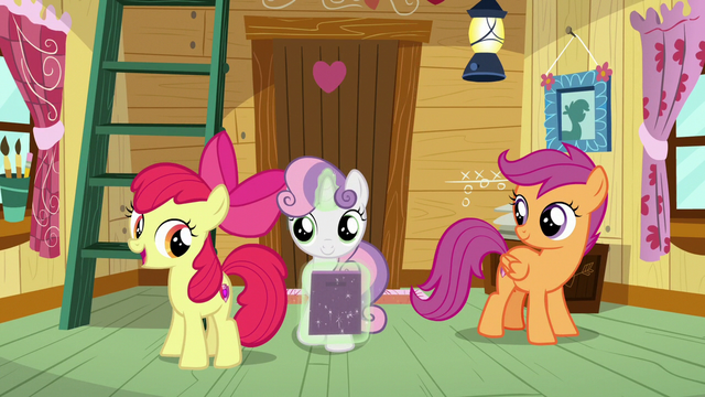"""File:Apple Bloom """"not a bad way at all!"""" S7E6.png"""