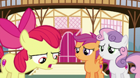 Apple Bloom apologizes to her friends S6E4