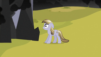 Crystal Pony looking at black cloud S3E2