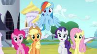 Main ponies no Twilight gasp S3E2