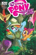 MLPFIM 6 Hot Topic RE Cover